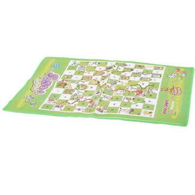 Portable Board Games Mini Ludo Snakes and Ladders Kids Flying Chess Game  6A