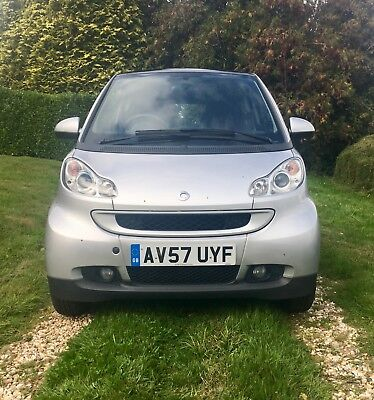 Smart Car Fortwo Turbo 84 BHP FSH Silver Full MOT 26K miles DEPOSIT TAKEN!