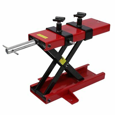Motorcycle Motorbike Bike Stand Scissor Lift Jack Paddock Workshop Bench UK NEW
