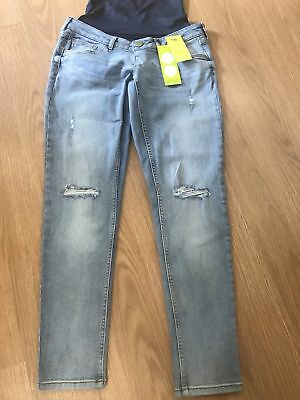 7d2075be0ecb1 Mothercare Maternity Jeans   Size 8R   Boyfriend Style   Over / Under the  Bump