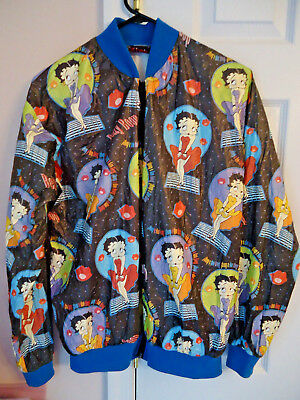 Vintage 1995 Betty Boop lightweight jacket, size Medium, collectible clothing