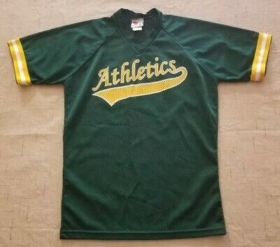 834d455dc VINTAGE RAWLINGS OAKLAND Athletics A s Baseball Jersey Size 36 small ...