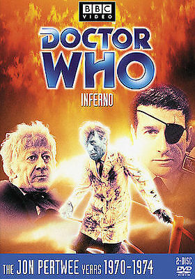 Doctor Who: Inferno (Story 54) DVD 2-Disc Set R1 CC FF Jon Pertwee BBC 1970