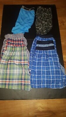 Boys Underwear Mixed Lot Size Large Boxers And Boxer Briefs 8 Pair