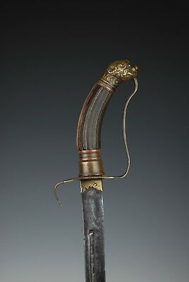 An Antique Vietnamese Guom fighting sword - Nguyen Dynasty - 19th century
