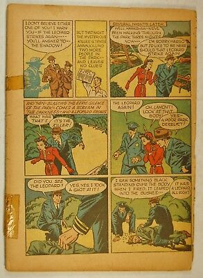 Shadow Comics #11 Cover-less Partial (July1941, St & Smith) Origin Hooded Wasp R