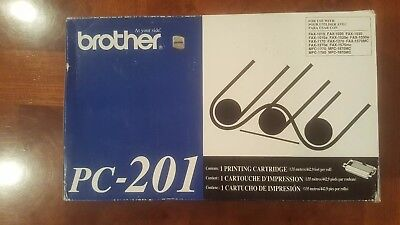 1 Brother PC-201  Printing Cartridge New in Box