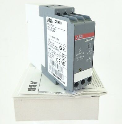 ABB CM-PFS Phasen-Überwachungsrelais Phase Sequence Monitoring Relay 2C/O UNUSED