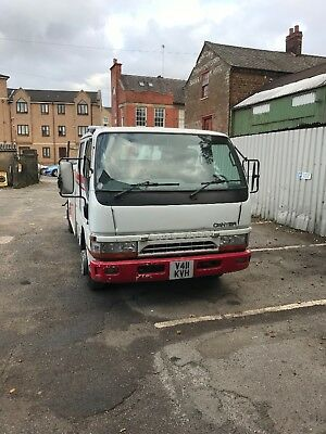 Mitsubishi canter spec lift