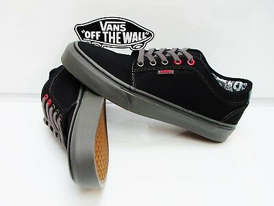 76ae636549 CHUKKA LOW (NINTENDO Check) Black grey Vn-000Zumjzw Men s Size  7.5 ...