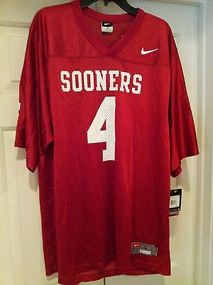 Nike Official Collegiate Oklahoma Sooner Game Jersey small 75%Off  60Sale   19.95 49a166a4f