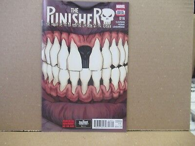 The Punisher #16 (2017) Marvel Comics Cover A  NM 1st Print   New