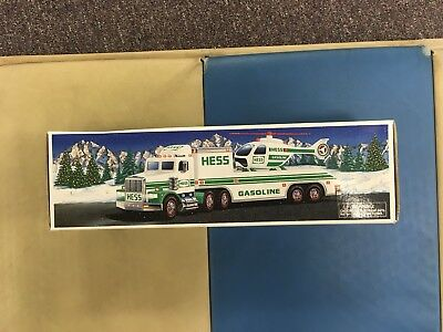 Hess Truck With Helicopter 1995
