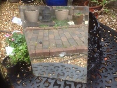 old plate glass mirror