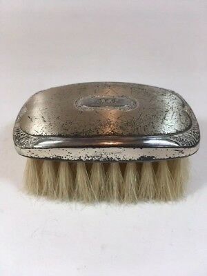 Antique Silver Brush Small