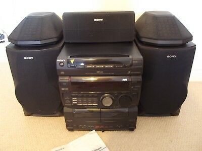 Sony MHC-991AV Mini Hi-Fi Component System with speakers VGC with instructions