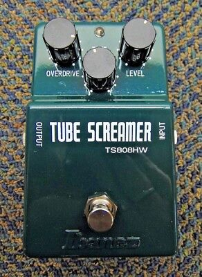Ibanez TS808HW Hand Wired Tube Screamer Overdrive Guitar Effects Pedal