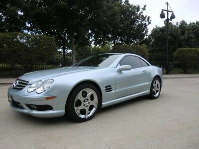2005 Mercedes-Benz SL-Class  2005 SL500 SPORT,PANO ROOF,HEATED AND COOLED SEATS,KEYLESS-GO,2 OWNERS,NICE