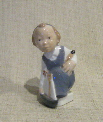 Royal Copenhagen Figurine Boy with Sailboat # 3272