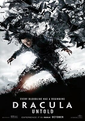 Dracula Untold - A4 Glossy Poster - Film Movie Free Shipping #625