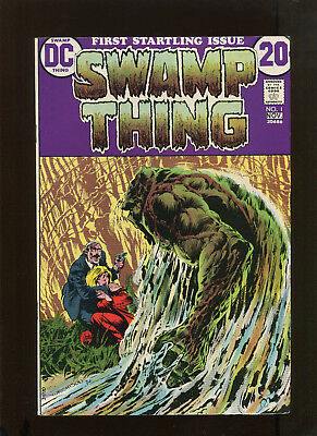 Swamp Thing #1 (8.0) Wrightson Cover!