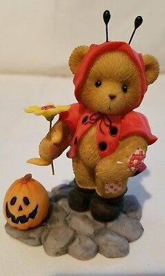 Cherished Teddies Beary Figurine Kayleigh  Ladybug Cute NIB Signed