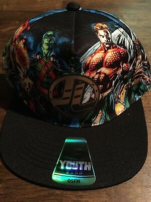 Justice League Youth Baseball Cap - Size OSFM - NWT
