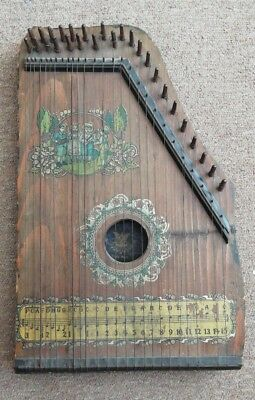 old German Saxony Piano Harp