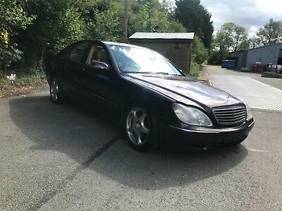 1 owner from new Mercedes s320 cdi automatic  spares  or repairs export