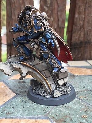 Warhammer 30k/40k, Konrad Curze painted, Night Lords, Chaos Space Marines