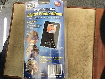 Digital Photo Album Credit Card Size