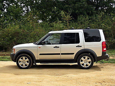 2005 Land Rover Discovery 3 Tdv6 Se Sat Nav Hse Spec Xenon 7 Seat Panoramic Roof