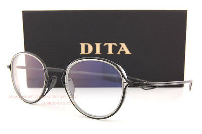 11fab575ad52 Brand New DITA Eyeglass Frames HALIOD DTX100-48-03 Black Iron Palladium