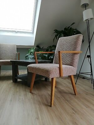 Mid century Sessel - DDR Möbel, Loungesessel 60s, 70s Easy Chair Vintage Stühle