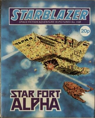 Star Fort Alpha,starblazer Space Fiction Adventure In Pictures,no.108,1983