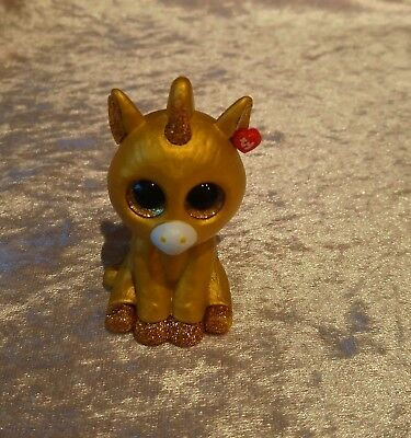 Ty Mini Boos Beanies Collectable Figure CHASE GOLDEN UNICORN - selling lots