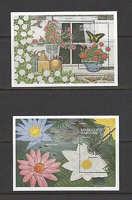 BUTTERFLIES/FLORA/INSECTS - Gabon - 1997 sheets (SC 893-4)- MNH-B911
