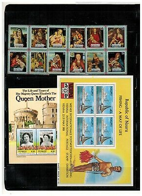 Lot of British Commonwealth Old Stamps MNH---