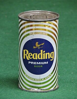 Reading Premium Beer Old Reading Brewing Co. Reading , Pa. Flat Top Can # 118-38
