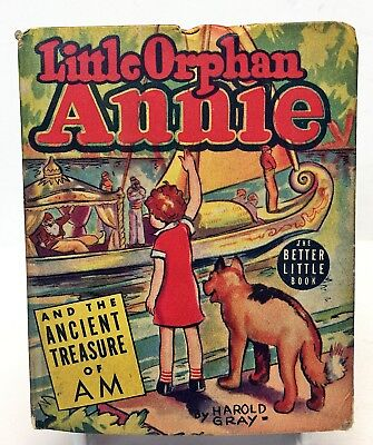 1939 LITTLE ORPHAN ANNIE and the Ancient Treasure of AM Big/Better Little Book