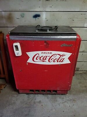 Glasco Coca Cola Vending Machine GBV-50