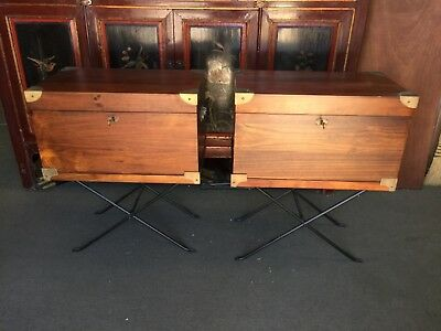 Campaign chests on stands
