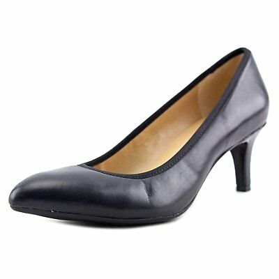 7ee02f09d11 NATURALIZER WOMENS STARGAZE Leather Closed Toe Classic Pumps New 7.5 ...