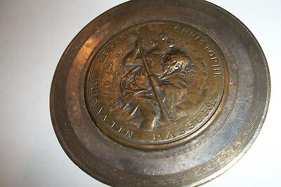 Large, A.N.R.J. Convention, St Christopher Medal, 1923, Providence, R.I.