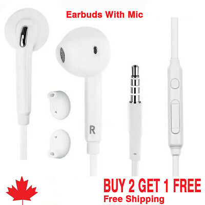 Earphones Earbuds for samsung Headphone With Mic For SAMSUNG S4 S5 S6 A5 ect