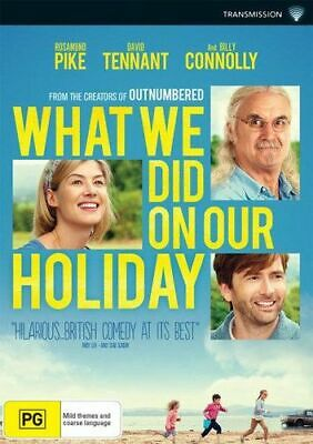 NEW What We Did on our Holiday DVD Free Shipping