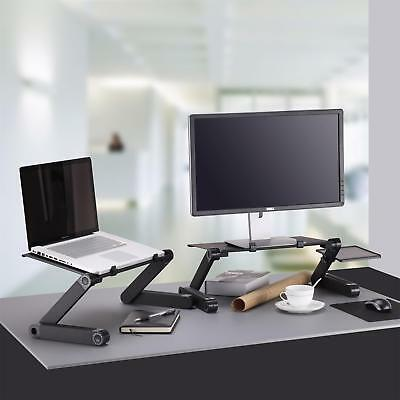 Portable Laptop Table Stand,Windaze Fully Adjustable Notebook Desk Stand