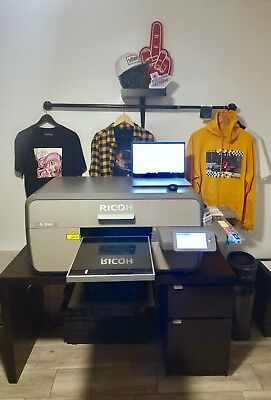 Anajet Ricoh Ri 3000 DTG Direct to Garment Printer For Tshirt / Apparel printing