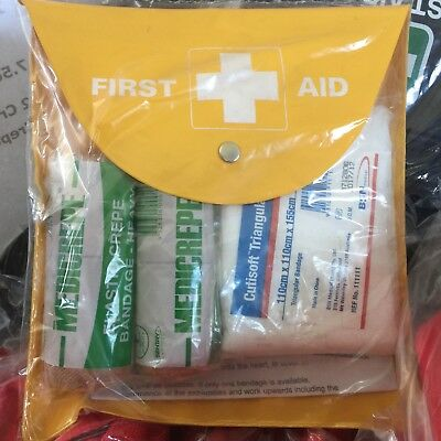 1 person SNAKE BITE First Aid KIT Easy Content Visibility Australian Standards