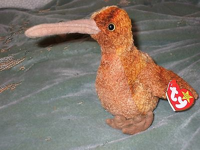 Ty Beanie Babies - Beak the Bird